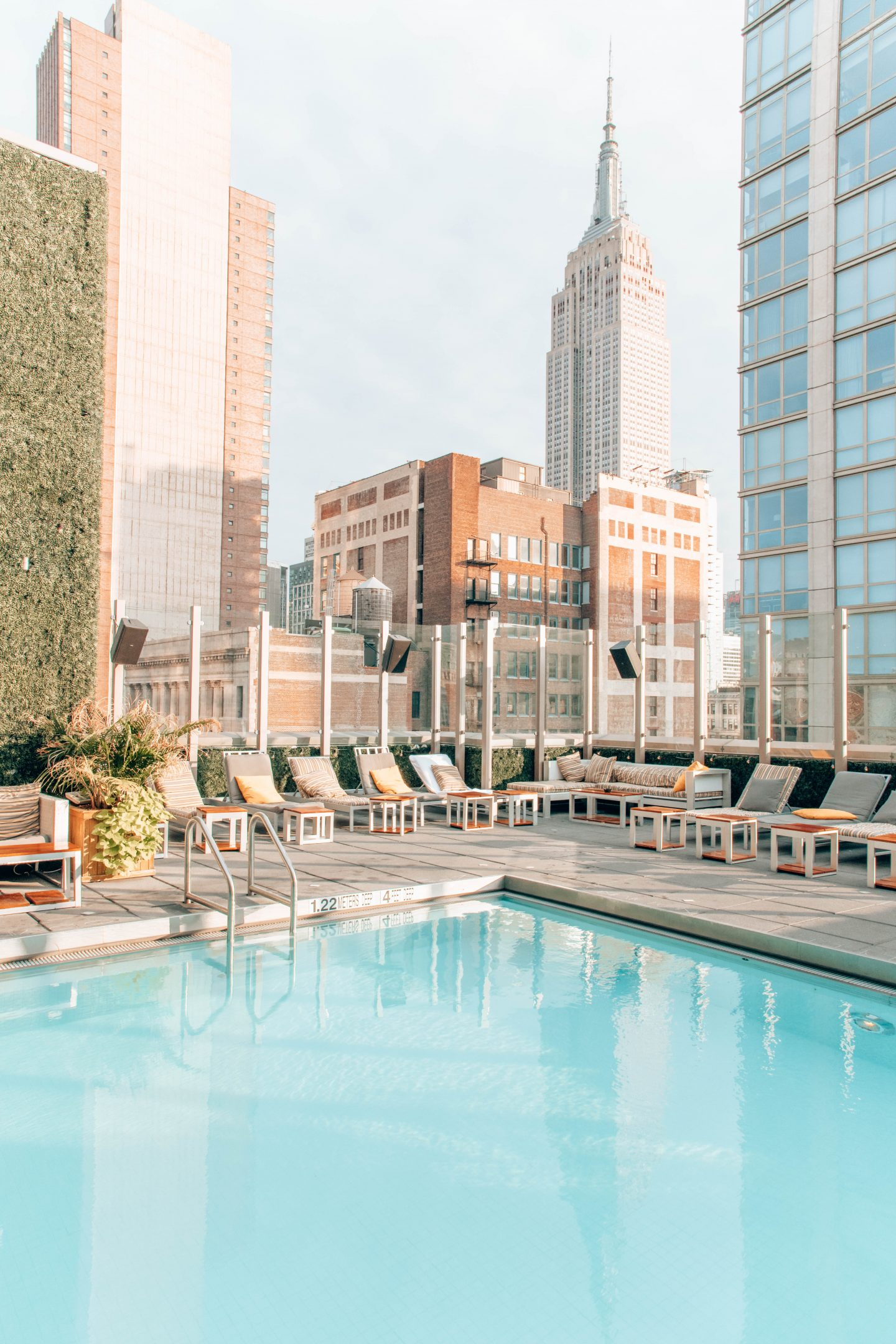Royalton Park Ave Rooftop Pool